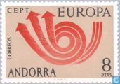 Postage Stamps - Andorra - Spanish - Europe – Post Horn