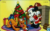 Mickey Mouse & Pluto kerst 1996