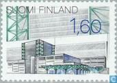 Briefmarken - Finnland - Architektur