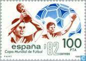 Postage Stamps - Spain [ESP] - World Cup Soccer