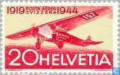 Postage Stamps - Switzerland [CHE] - Airmail 25 years