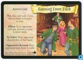 Cartes à collectionner - Harry Potter 4) Adventures at Hogwarts - Running From Filch