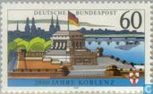 Timbres-poste - Allemagne, République fédérale [DEU] - 8vChr Koblenz-1992