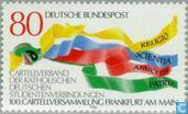 Postage Stamps - Germany, Federal Republic [DEU] - Catholic students meeting
