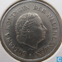 Coins - the Netherlands - Netherlands 25 cents 1975