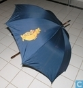 Divers - HEMA - Paraplu Bommel (Blauw)