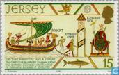 Timbres-poste - Jersey - Conquérant, Guillaume le