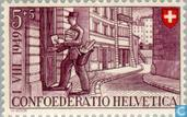 Postage Stamps - Switzerland [CHE] - Postman