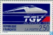 Postage Stamps - France [FRA] - Inauguration high-speed line
