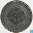 Monnaies - Pays-Bas - Pays Bas 10 cent 1941 (zinc)