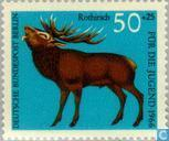 Timbres-poste - Berlin - animaux de la forêt