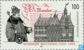 Postage Stamps - Germany, Federal Republic [DEU] - Reichstag Worms