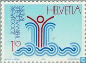 Postage Stamps - Switzerland [CHE] - Thermal baths 2000 years