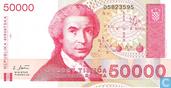 Kroatië 50.000 Dinara 1993