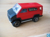 Modelauto's  - Tonka - Mini Tonka Van red and black