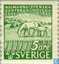 Timbres-poste - Suède [SWE] - 5 vertes