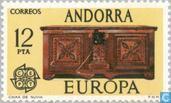 Briefmarken - Andorra - Spanisch - Europa – Kunsthandwerk