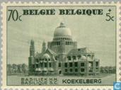 Briefmarken - Belgien [BEL] - Basilika von Koekelberg