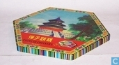 Board games - Halma - Chinese Checkers (grote uitvoering)