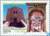Timbres-poste - Saint-Marin - L'art religieux