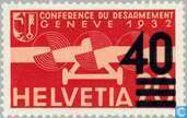 Postage Stamps - Switzerland [CHE] - Overprint