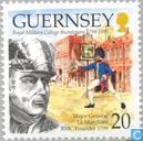 Timbres-poste - Guernesey - Académie militaire 1799-1999