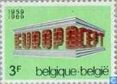 Briefmarken - Belgien [BEL] - Europa – Tempel