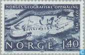 Postage Stamps - Norway - 200 years of geographical research