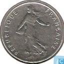 Munten - Frankrijk - Frankrijk ½ franc 1965 (grote letters)
