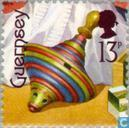 Postage Stamps - Guernsey - Old toys