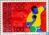 Briefmarken - Liechtenstein - Olympische Spiele