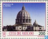 Postage Stamps - Vatican City - Monuments