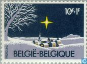 Timbres-poste - Belgique [BEL] - Paysage d'hiver