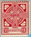 Briefmarken - Irland - Irish Symbole