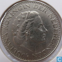 Coins - the Netherlands - Netherlands 1 gulden 1967 (nickel)