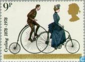 Postage Stamps - Great Britain [GBR] - Centenaires of Cyclists Touring Club and British Cycling Federation