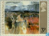 Postzegels - Groot-Brittannië [GBR] - Festival Ulster '71- Schilderijen