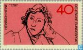Postage Stamps - Germany, Federal Republic [DEU] - Heinrich Heine (1797-1856)