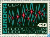 Postage Stamps - Liechtenstein - Europe – Aurora Borealis