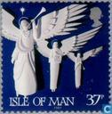 Postage Stamps - Man - Angels