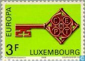 Postage Stamps - Luxembourg - Europe – Key