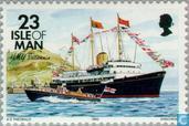Postzegels - Man - Schepen