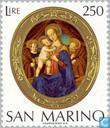 Postage Stamps - San Marino - Christmas