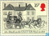 Postage Stamps - Great Britain [GBR] - 200 years of Malle-Poste service