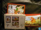 Ansichtskarten  - Bommel und Tom Pfiffig - Doos Wenskaarten 4
