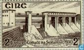 Postage Stamps - Ireland - Shannon Hydroelectric