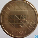 Coins - the Netherlands - Netherlands 5 gulden 1998