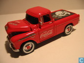 Model cars - Johnny Lightning - Chevrolet Cameo 'Coca-Cola'