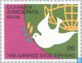 Postage Stamps - Greece - Int. Year of Peace