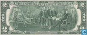 Billets de banque - Federal Reserve Note - Dollars 2 U. S.